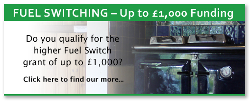 Fuel Switching - Up to £1000 funding