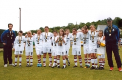 County Cup success to the Liskeard Girls Under 12s football team