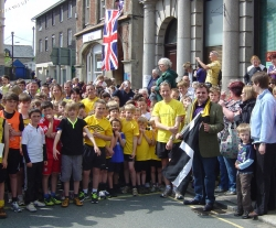 Olympic Torch Relay Fun Run in Liskeard