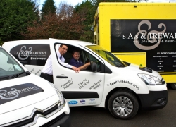 New fleet of vans for SAS Trewarthas