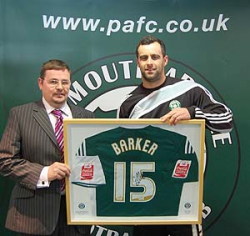 Plymouth Argyle signed defender Chris Barker from QPR