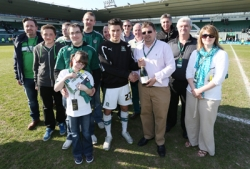 Plymouth Argyle Football Club Match Sponsors for last match in the season