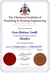 Ciphe level increases for SAS Trewarthas Plumbing and Heating