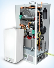 First independent supplier to install the new Baxi Ecogen boiler.